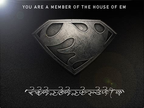 Topi Superman Of Steel kryptonian symbols of steel www pixshark