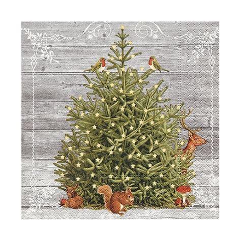 Tovagliolo Albero Di Natale by Tovaglioli Per Decoupage Albero Di Natale 1pezzo