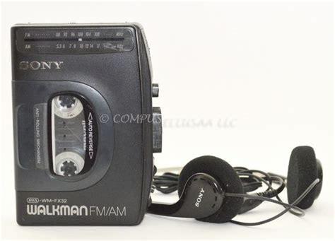 Headset Sony Ericsson Walkman Original sony walkman fm am cassette player wm fx32 with original headphones sony shop early and save