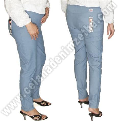 Celana Warna Biru Navy celana zetha denim pensil warna biru sedang celana denim zetha