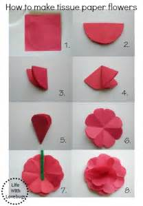 How Make A Paper Flower - hometalk how to make tissue paper flowers