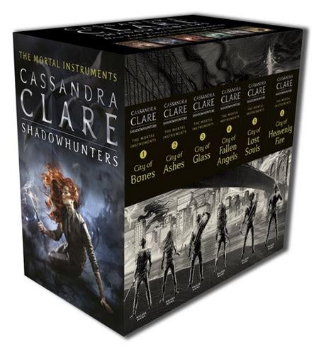 Mortal 13cm the mortal instruments vol 1 6 slipcase box set clare