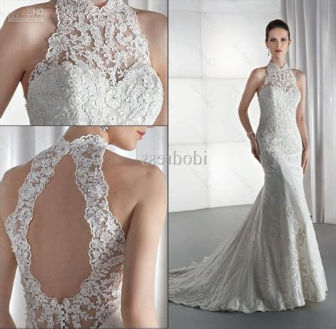 High Wedding Dresses by Lace High Neck Wedding Dress Wedding Dress Gallery