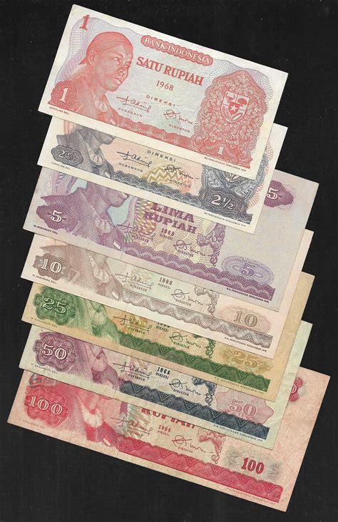 1 Rupiah Sudirman 1 Lembar jual beli 376 uang kertas indonesia mini set seri