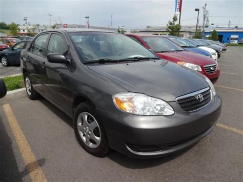 Gas Mileage 2007 Toyota Corolla 2007 Toyota Corolla Ce Gatineau Used Car For Sale