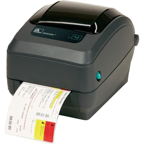 Zebra GX430T Label printer Thermal transfer 300 x 300 dpi ...