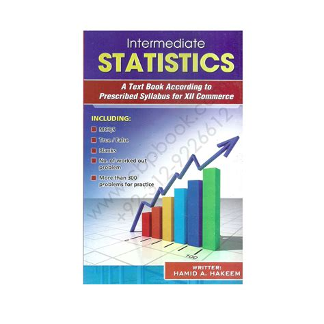 Statistics Book For Mba by Intermediate Statistics Text Book For 2nd Year By Hamid A