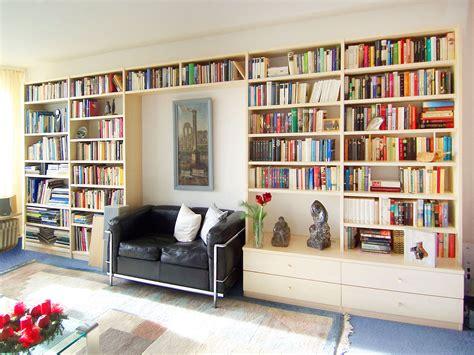 Bibliothek Bücherregal by Muster Tapete Wohnzimmer