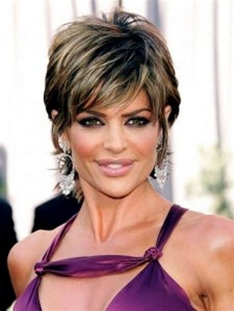 hairdresser for rinna short shag hairstyles
