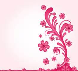 Floral Decorations free floral pink decoration backgrounds for powerpoint flower ppt