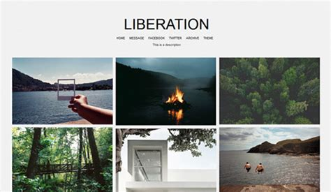 tumblr themes free infinite scroll grid free html5 css3 templates free awesome tumblr themes