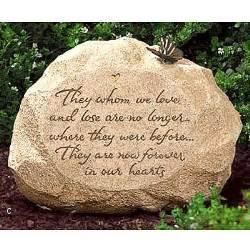 Memorial Garden Rocks Garden Memory