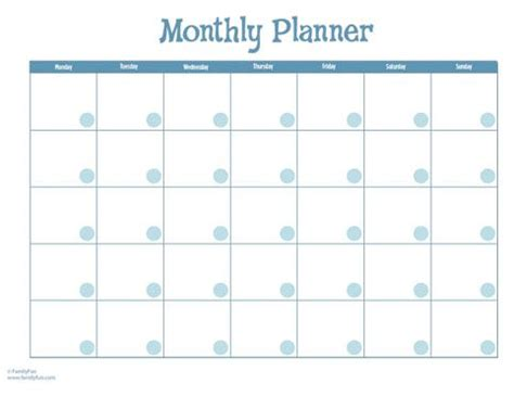 monthly activity calendar template monthly calendar printable free organize it