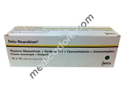 Neurobion Tablet 30s by Dolo Neurobion Tablet