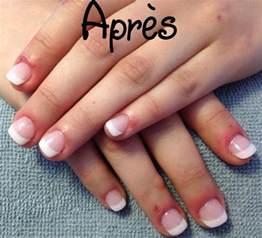 ongles en gel sur ongles naturels