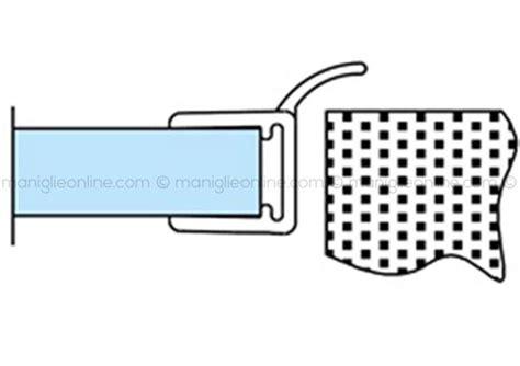 guarnizione vetro doccia guarnizione per box doccia in vetro 6 8 mm
