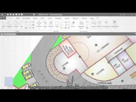 zwcad tutorial youtube novedades zwcad 2017 advanc3d technologies youtube