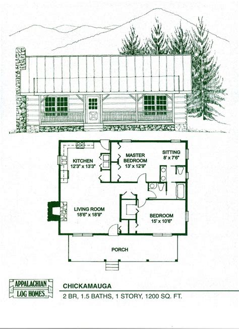 log cabin floor plans cottage home kits woodworking projects plans