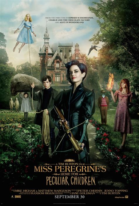 miss peregrine s home for peculiar children trailer