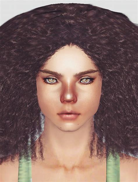 sims 4 cc afro afro hairstyle sims 4 lana cc finds mochasims curly afro