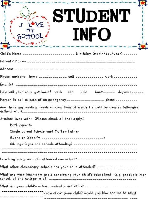 Student Advice Template Cards by 25 Best Ideas About Open House Letters On