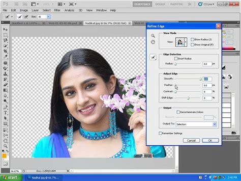 photoshop cs5 quick selection tool tutorial photoshop refine edge quick selection adobe photoshop cc