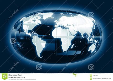 a world map glossy glow f1s stock photos image 13892993