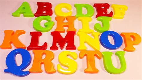 Magnet Letters learn a word with plastic magnet letters for