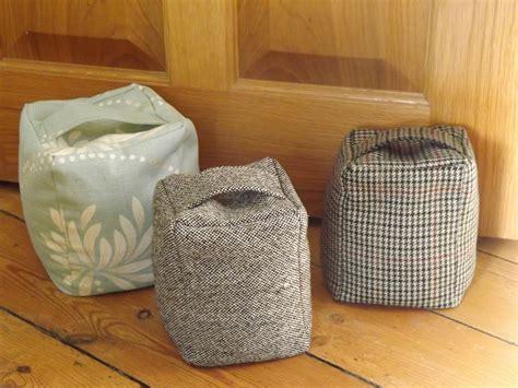 pattern fabric door stop me and my shadow thrifty tweed door stop tutorial