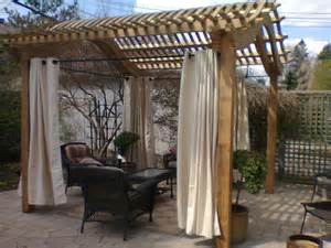 Outdoor Curtains For Pergola 143 Best Pergola Images On