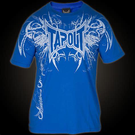 Tap Out Darkside Shirt Black tapout t shirt darkside blaues t shirt mit 252 bergro 223 em