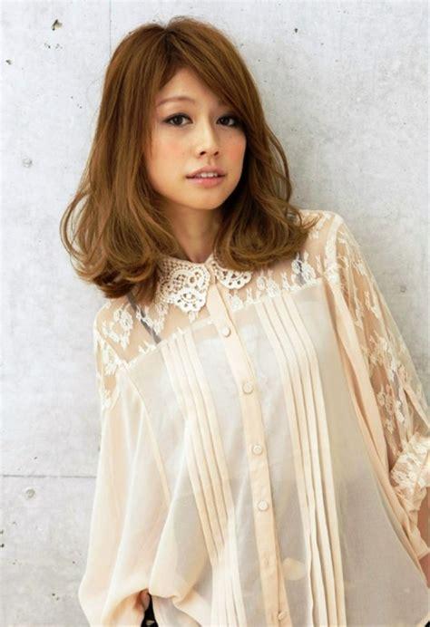 Japanese Hairstyles by Medium Japanese Hairstyle Behairstyles