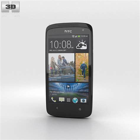 htc desire 500 htc desire 500 lacquer black 3d model hum3d