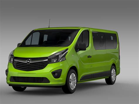 2015 opel vivaro opel vivaro window 2015 l2h1 3d model buy opel