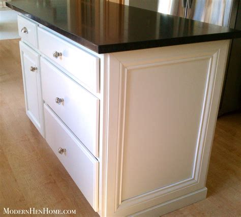 decorative trim kitchen cabinets before after painting a kitchen island on a budget