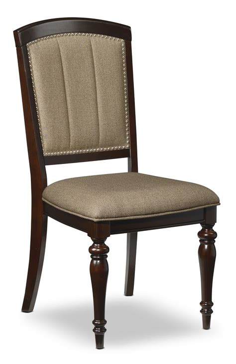 side chairs for dining room thoreaux side chair dark cherry leon s