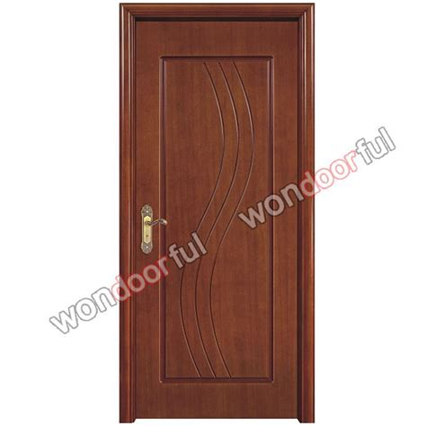 single door design 2015china latest design wooden single main door design