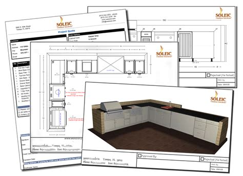 design service soleic outdoor kitchens