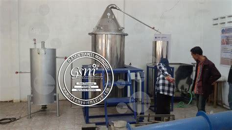 Minyak Atsiri Lada mesin destilasi minyak atsiri kapasitas 100 kg toko alat