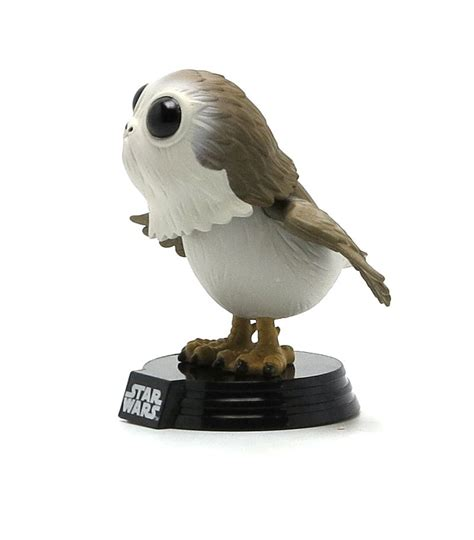 bobblehead porg funko pop porg exclusive wars e8 artoyz