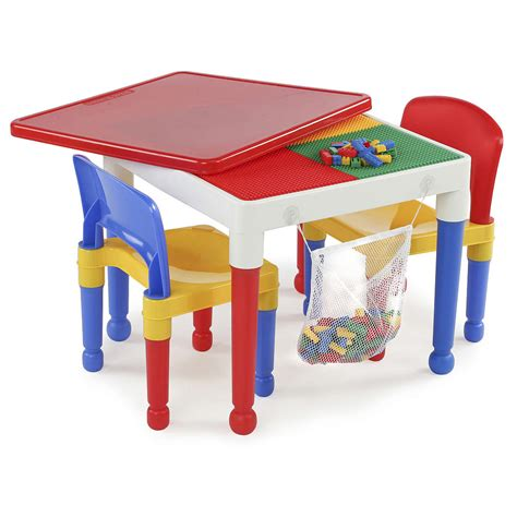 Toys quot r quot us tot tutors 2 in 1 activity table and 2 chairs set 49 99 shipped lego compatible
