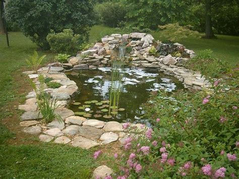 backyard fish pond pin by deb anderson on garden pond pinterest