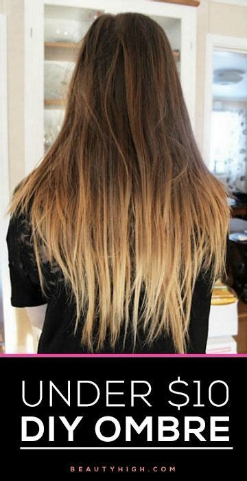 best 25 diy ombre hair ideas on going at home highlights and