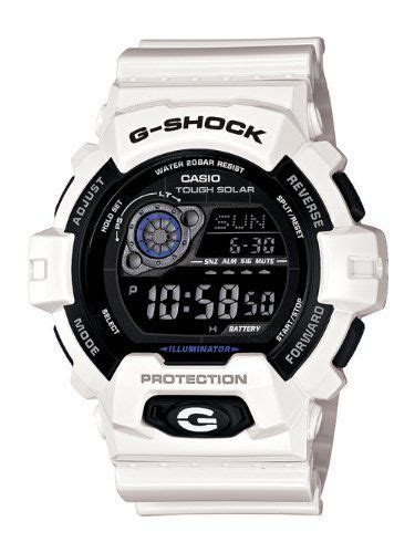 G Shock Gr8900a 1dr Black Rubber casio s gr8900a 7 g shock tough solar digital white