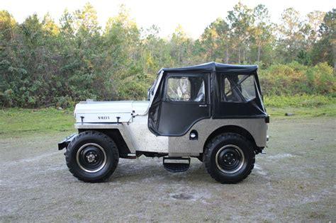 Cj3 Jeep 1954 Jeep Willys Cj 3 High 2 2l Cj3 For Sale