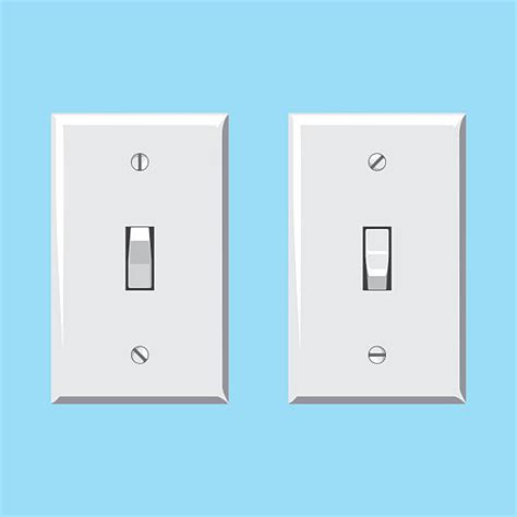 royalty free light switch clip vector images