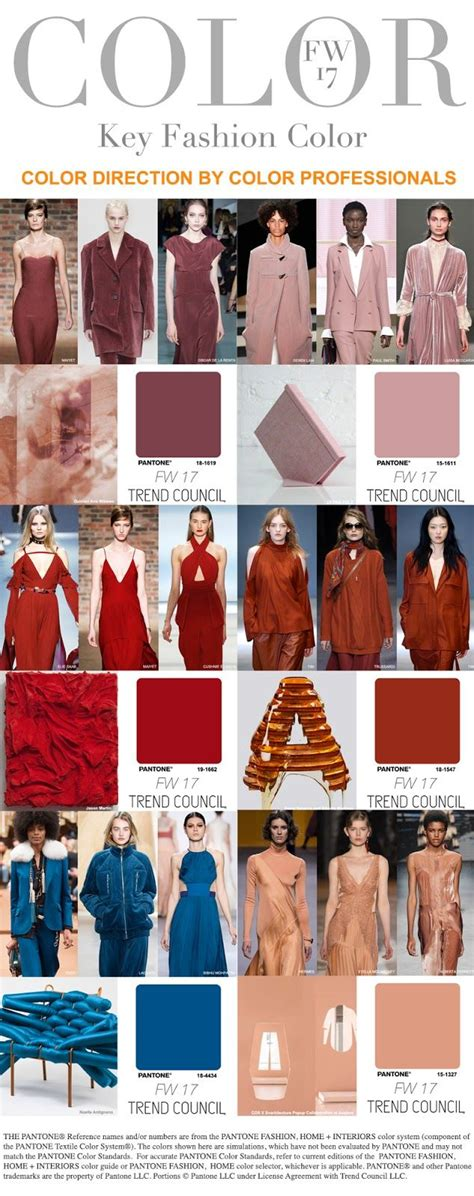 fall 2017 color trends best 25 fashion forecasting ideas on pinterest fashion