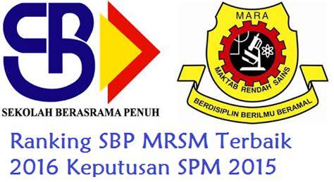 ranking keputusan pt3 sbp 2015 ranking pt3 terbaik sbp 2015 newhairstylesformen2014 com