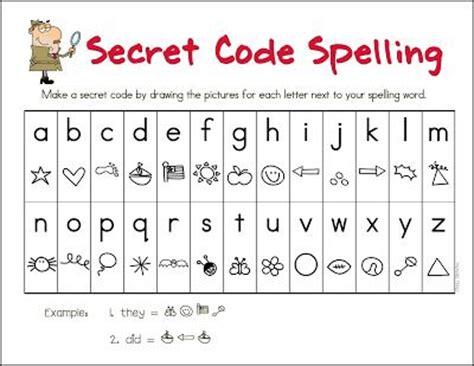 s day secret code worksheets mrs gilchrist s class secret code spelling language
