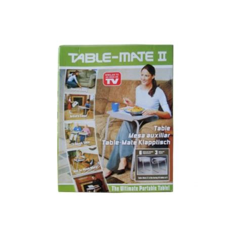 table mate as seen on tv as seen on tv table mate ii folding tv tray